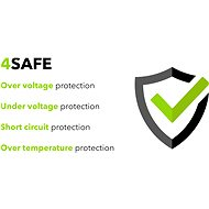 AlzaPower Smart Charger 2.1A black - AC Adapter
