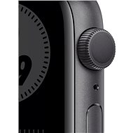 Apple Watch Nike Series 6 44mm Space Grey AluminIum with Nike Anthracite / Black Sport Strap - Smartwatch
