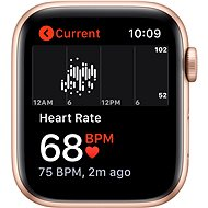 Apple Watch SE 40mm Gold Aluminium with Sand-pink Sports Strap - Smartwatch