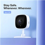 TP-LINK Tapo C100 Home Security Wi-Fi Camera 1080P - IP Camera