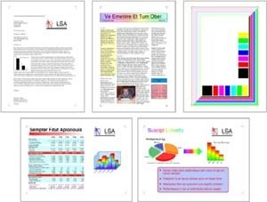 ISO standard for color toners