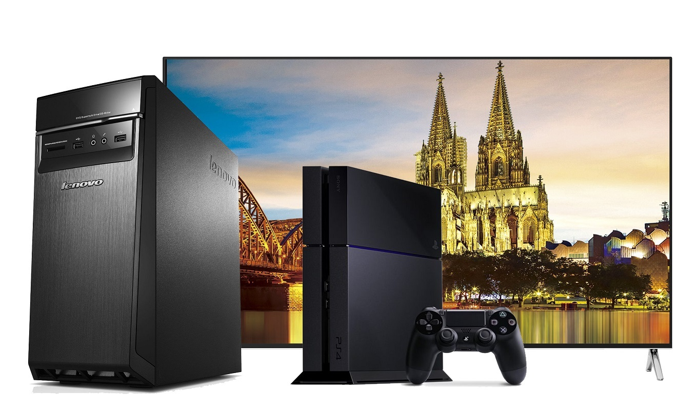 present for family – HISENSE H75M7900, Sony Playstation 4, Lenovo IdeaCentre H50-55