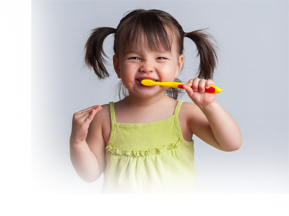How to clean teeth for children