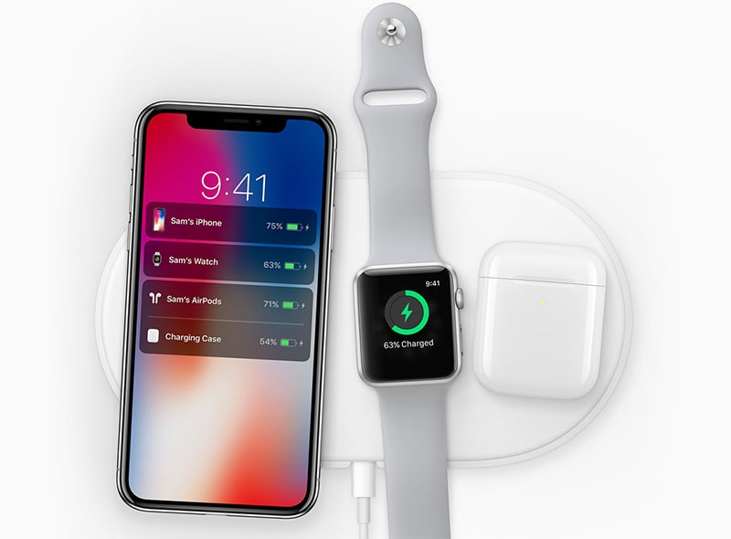 Wireless charging with iPhone X