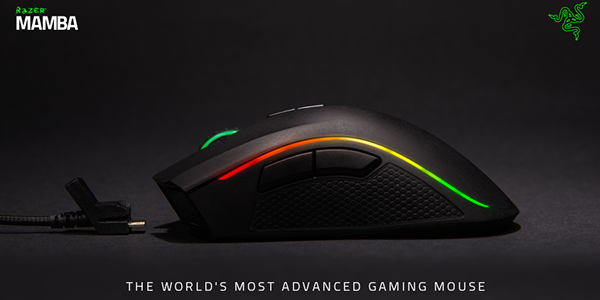 Razer Mamba Gaming Mouse – Built for Mastery