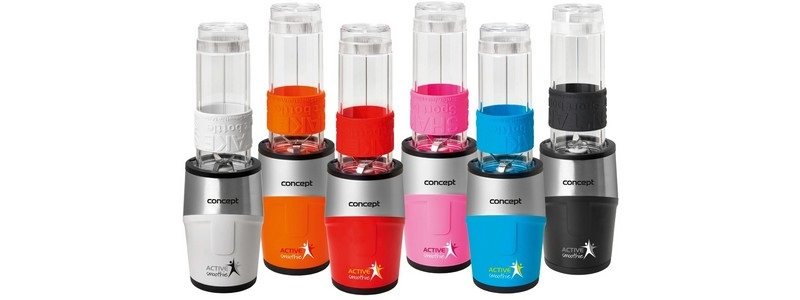 Enjoy refreshing and healthy drinks with Concept Active Smoothie blenders