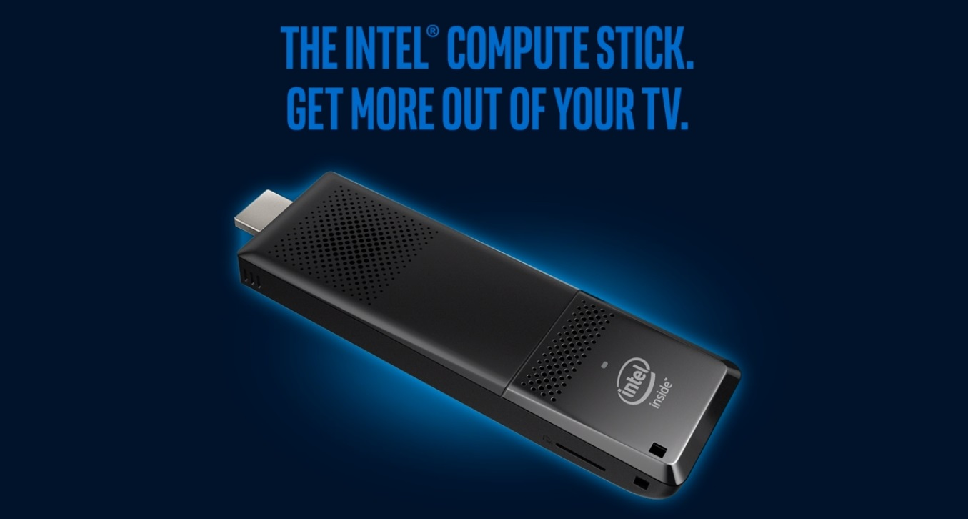The Intel Compute Stick turns your TV into a computer