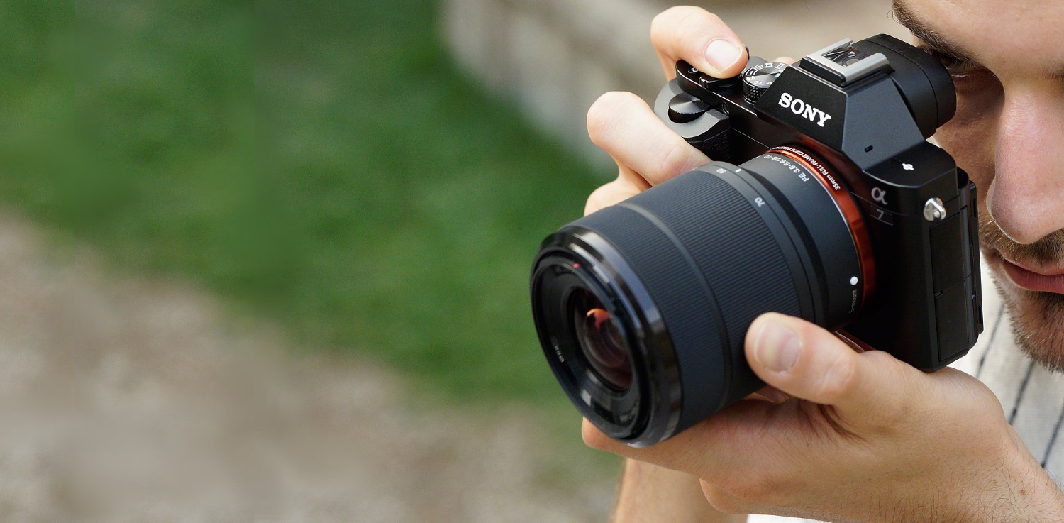 Sony Alpha 7 – A full-frame, mirrorless camera with interchangeable lenses