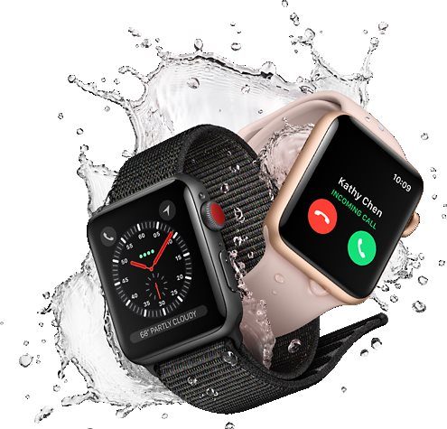 Apple Watch Series 3 GPS 42mm Space Gray Aluminum Case with Gray ... c7043668cff