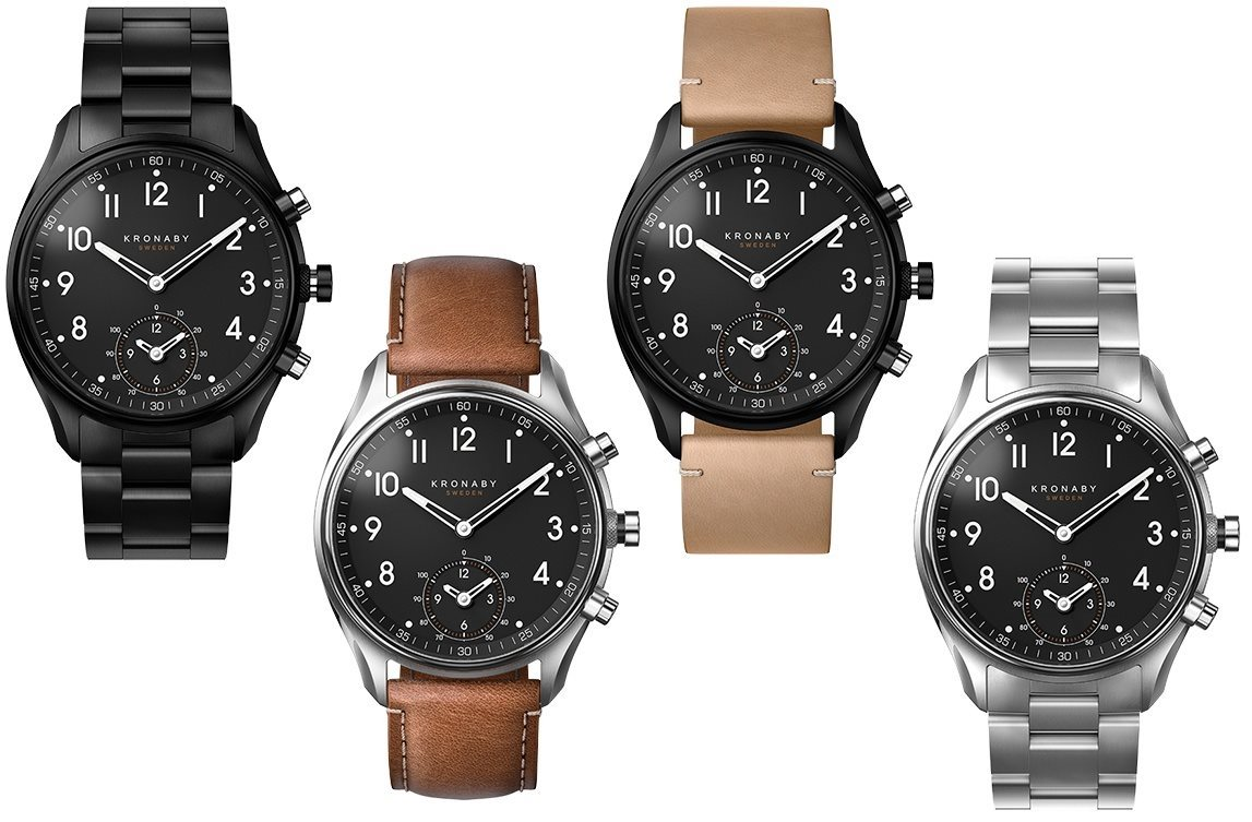 64f5dad94 Elegant analog watch with smart features. The Kronaby APEX ...