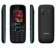 Aligator D200 Dual SIM Black/Blue - Mobile Phone