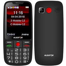 ALIGATOR A890 Senior black - Mobile Phone