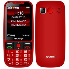 ALIGATOR A890 Senior red - Mobile Phone