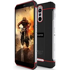 Aligator RX700 eXtremo black-red - Mobile Phone