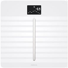Nokia Body Cardio Full Body Composition WiFi Scale - White - Bathroom scales