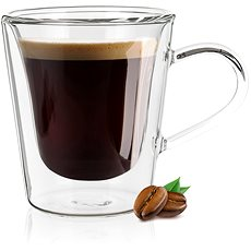 BANQUET DOBLO glass glass double-walled 110ml - Coffee Cups