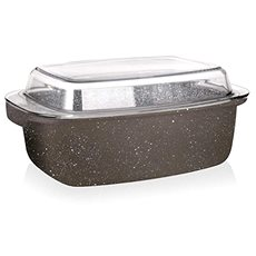BANQUET non-stick pan MARRONE 5.7l, with lid - Roasting Pan