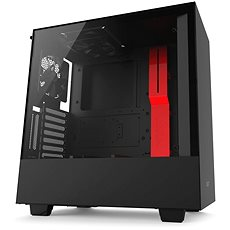 NZXT H500i black and red - PC Case