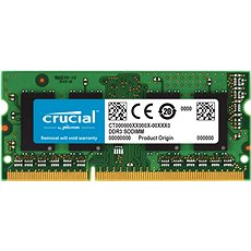 Crucial SO-DIMM 4GB DDR3 1600MHz CL11 - System Memory