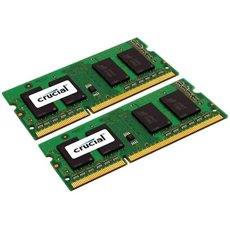 Crucial SO-DIMM DDR3 1600MHz 8GB KIT CL11 Dual Voltage - System Memory