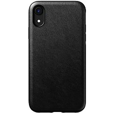 Nomad Rugged Leather Case Black iPhone XR - Mobile Case