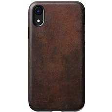 Nomad Rugged Leather Case Brown iPhone XR - Mobile Case