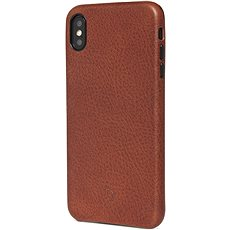 Decoded Leather Case Brown iPhone XS Max - Mobile Case