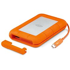 "LaCie 2.5"" Rugged 1TB Thunderbolt Series - External hard drive"
