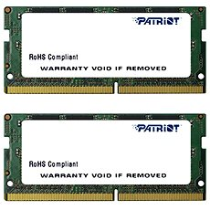 Patriot SO-DIMM KIT 16GB DDR4 2400MHz CL17 Signature Line - System Memory