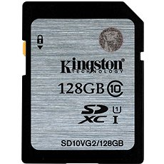 Kingston SDXC 128GB Class 10 UHS-I - Memory Card