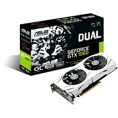 ASUS DUAL GeForce GTX 1060 O6G - Graphics Card