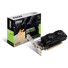MSI GeForce GTX 1050 Ti 4GT LP - Graphics Card