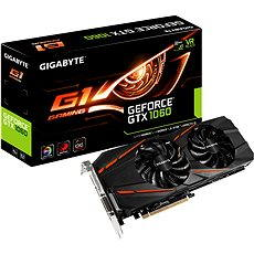 GIGABYTE GeForce GTX 1060 G1 Gaming - Graphics Card