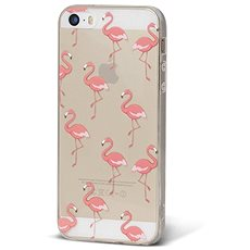 Epico Pink Flamingo for iPhone 5/5S/SE - Mobile Case
