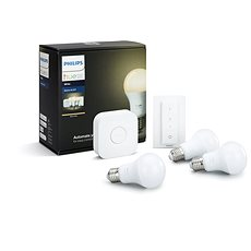 Philips Hue White 8.5W E27 Starter Kit - LED bulb
