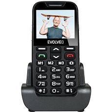 EVOLVEO EasyPhone XD black/silver - Mobile Phone