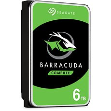 Seagate BarraCuda 6TB - Hard Drive