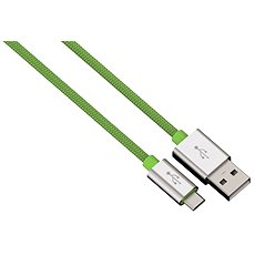 Hama Color Line USB A - Micro USB B, 1m, green - Data cable