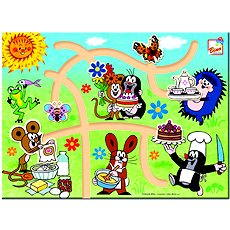 Bino Little Mole - 2D labyrinth - Educational toy