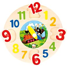 Bino Clock with the Mole - Educational Toy