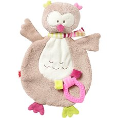 Nuk Forest Fun - Blanket with a Teether, Owl - Plush Toy