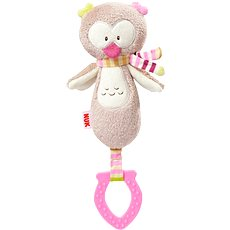 Nuk Forest Fun - Owlet Handheld Teether - Plush Toy