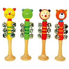 Bino Jingle Bells with 9 Bells - Musical Toy