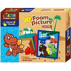 Bino 3D Foam Pictures - Dinosaur - Creative Kit