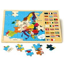 Inset Puzzle - European Countries - Educational toy