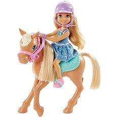 Mattel Barbie Chelsea and Pony - Doll