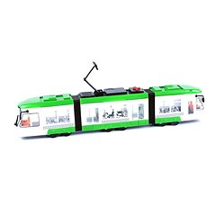 Tram with sounds light green - Train