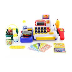 Cash Register with Accessories - Game set