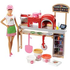 Barbie Cooking&Baking Pizza Play Set - Doll