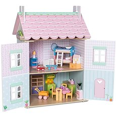 Le Toy Van Domecek Sweetheart Cottage - Dollhouse